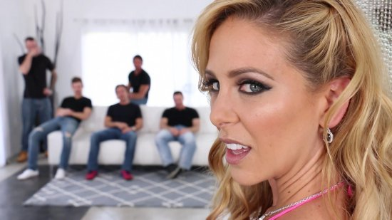 Gangbanged 8 featuring Cherie DeVille