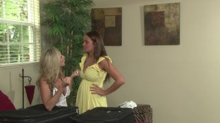 Streaming porn video still #1 from Mother-Daughter Lesbian Lessons