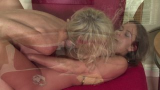 Streaming porn video still #7 from Mother-Daughter Lesbian Lessons