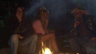 Streaming porn video still #9 from Camp Cuddly Pines Powertool Massacre