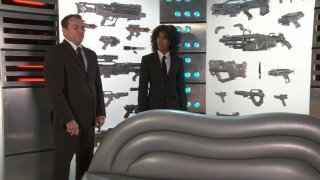 Streaming porn video still #3 from Men In Black: A Hardcore Parody