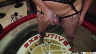 Streaming porn video still #9 from TS Cock Strokers 6