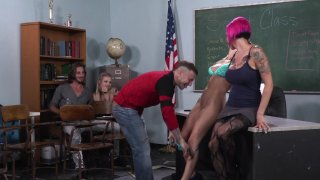 Streaming porn video still #1 from Axel Braun's Squirt Class 3