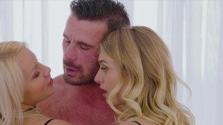 Streaming porn video still #8 from Threesome Fantasies Vol. 2