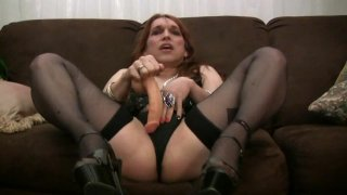 Streaming porn video still #4 from T-Girls Solo 4