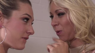 Streaming porn video still #1 from Babes Illustrated: Lesbian Office Affairs