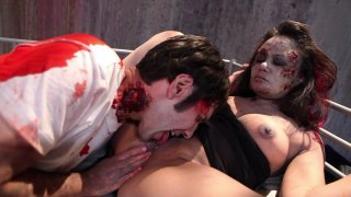 Streaming porn video still #6 from Beyond Fucked: A Zombie Odyssey