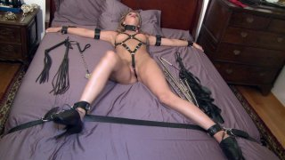 Streaming porn video still #3 from Taboo Teens: Paddled & Plugged