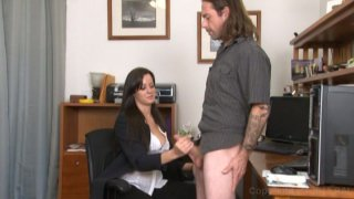 Streaming porn video still #6 from Monsters Of Jizz Vol. 33: Clothed Female Nude Male