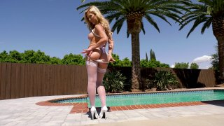 Streaming porn video still #1 from LeWood Gangbang: Battle Of The MILFs 2