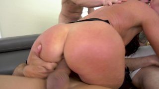 Streaming porn video still #5 from LeWood Gangbang: Battle Of The MILFs 2