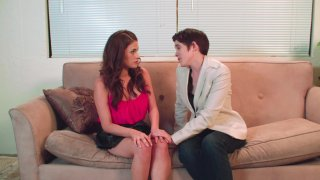 Streaming porn video still #8 from Between The Headlines: A Lesbian Porn Parody