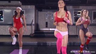 Streaming porn video still #1 from Yoga Freaks Vol. 2