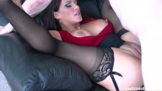 Streaming porn video still #4 from My Therapist's Anal Creampie