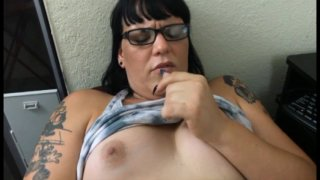 Streaming porn video still #8 from Betty Does Texas