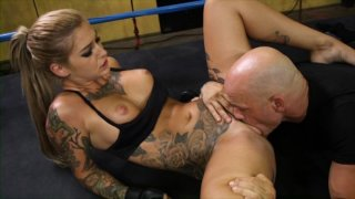 Streaming porn video still #5 from Ronda ArouseMe: Grounded And Pounded