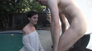 Streaming porn video still #7 from Buddy Wood's TS Debutantes