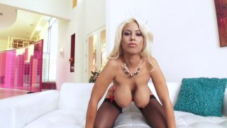 Streaming porn video still #3 from Big Tit Anal MILFs #2
