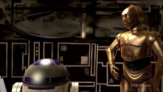 Streaming porn video still #1 from Star Wars XXX: A Porn Parody