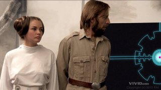 Streaming porn video still #2 from Star Wars XXX: A Porn Parody