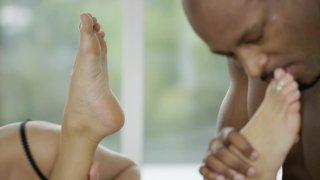 Streaming porn video still #8 from Interracial Threesomes Vol. 2