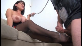 Streaming porn video still #11 from More Femdom Cumshots!!!