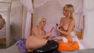 Streaming porn video still #7 from Girly Girls Like It Rough