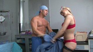Streaming porn video still #3 from Big Breast Nurses 6