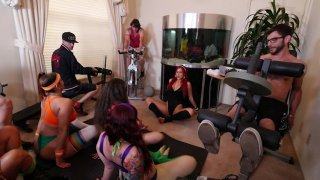 Streaming porn video still #2 from Orgy Heroes
