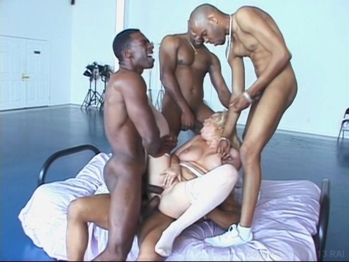Interracial Gangbang Streaming 18