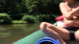 Streaming porn video still #3 from House Boat Full Of Teens