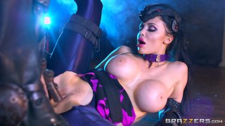 Streaming porn video still #4 from Brazzers Presents: The Parodies 7- Pornstar Go