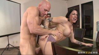 Streaming porn video still #7 from Big Tits At Work Vol. 12
