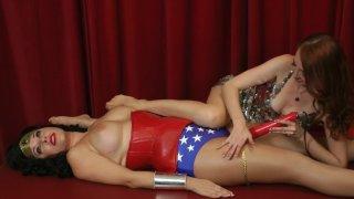 Streaming porn video still #8 from Wonder Woman