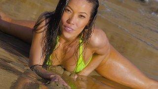 Streaming porn video still #1 from Kalina Ryu Reamed 'N Creamed