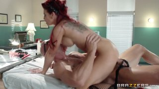 Streaming porn video still #9 from Brazzers Presents: The Parodies 5 - Straight Outta Brazzers