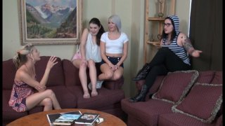 Streaming porn video still #1 from Naughty Babysitter Club