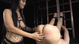 Streaming porn video still #1 from Strapdomme 2: Bound For Pegging
