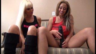 Streaming porn video still #8 from Big Tit Femdom