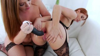 Streaming porn video still #7 from Lil' Gaping Lesbians 7