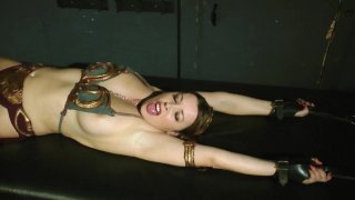 Streaming porn video still #5 from Perils of Slave Leia, The