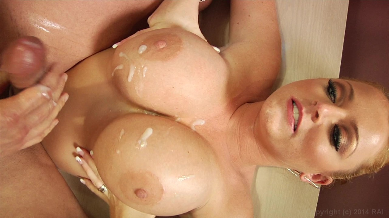 Katie kox is served on the table for pleasure 3