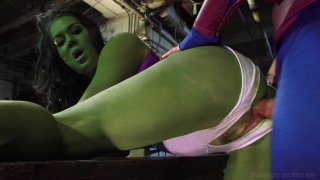 Streaming porn video still #9 from She-Hulk XXX: An Axel Braun Parody