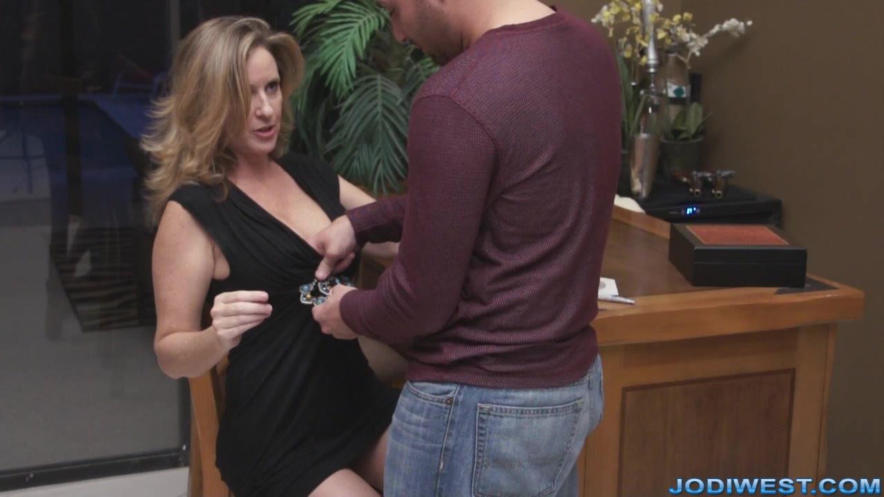 Has lovely Jodi west massage caring