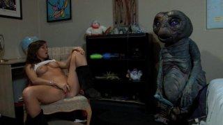 Streaming porn video still #9 from E.T. XXX: A Dreamzone Parody