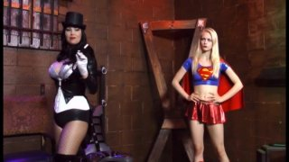 Streaming porn video still #1 from Supergirl Powerless: A Fetish Parody