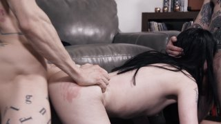 Streaming porn video still #6 from Double Teaming My Step Sister
