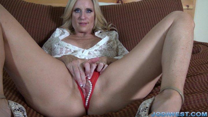 Jodi West - Sheer Blouse Masturbation image.